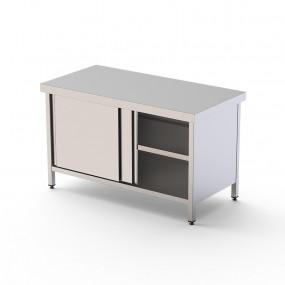 Table centrale avec portes